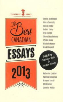 Best Canadian Essays 2013 av Christopher Doda og Stephen Marche (Heftet)