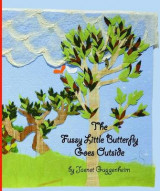 Omslag - The Fussy Little Butterfly Goes Outside