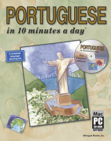 Omslag - Portuguese in 10 Minutes a Day