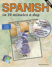 Spanish in 10 minutes a day av Kristine Kershul (Heftet)