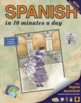 Omslag - Spanish in 10 minutes a day