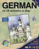 Omslag - German in 10 minutes a day