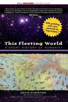 This Fleeting World av David Christian (Heftet)