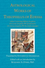 Omslag - Astrological Works of Theophilus of Edessa