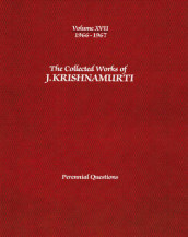 The Collected Works of J.Krishnamurti - Volume Xvii 1966-1967 av J. Krishnamurti (Heftet)