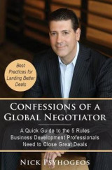 Omslag - Confessions of a Global Negotiator