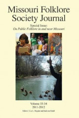 Omslag - Missouri Folklore Society Journal, Special Issue