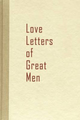 Omslag - Love Letters of Great Men
