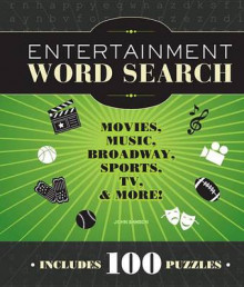 Entertainment Word Search av John M. Samson (Heftet)