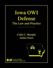 Iowa Owi Defense av Colin C Murphy og James Nesci (Innbundet)