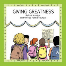 Giving Greatness av Paul Nourigat og Natalie Nourigat (Heftet)