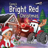 Omslag - Casey's Bright Red Christmas