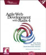 Omslag - Agile Web Development with Rails 4