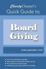 Omslag - Charitychannel's Quick Guide to Board Giving