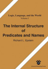 Omslag - The Internal Structure of Predicates and Names