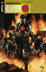 Omslag - Bloodshot: Harbinger Wars Volume 3