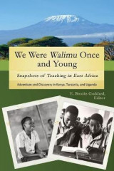 Omslag - We Were Walimu Once and Young