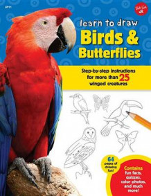 Learn to Draw Birds & Butterflies av Walter Foster Jr Creative Team (Innbundet)
