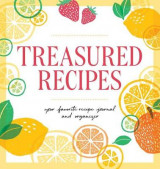 Omslag - Treasured Recipes (Blank Recipe Book)