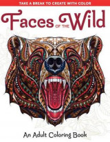 Omslag - Faces of the Wild: An Adult Coloring Book