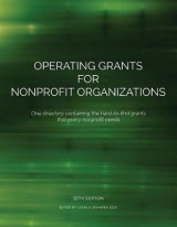 Omslag - Operating Grants for Nonprofit Organizations