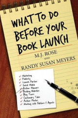 Omslag - What to Do Before Your Book Launch