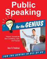 Omslag - Public Speaking for the Genius