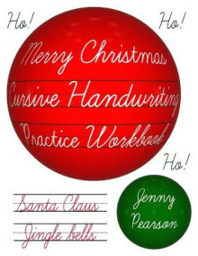 Merry Christmas Cursive Handwriting Practice Workbook av Jenny Pearson (Heftet)