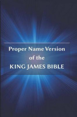 Omslag - Proper Name Version of the King James Bible