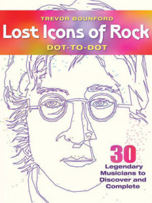 Lost Icons of Rock Dot-to-Dot Portraits av Trevor Bounford (Heftet)
