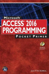 Omslag - Microsoft Access 2016 Programming