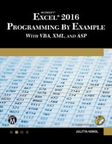 Omslag - Microsoft Excel 2016 Programming by Example with VBA, XML, and ASP