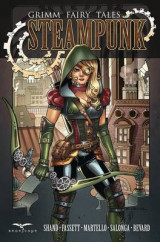 Omslag - Grimm Fairy Tales Steampunk