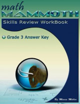 Omslag - Math Mammoth Grade 3 Skills Review Workbook Answer Key