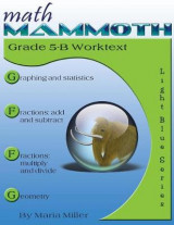Omslag - Math Mammoth Grade 5-B Worktext