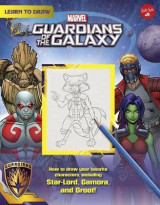 Omslag - Learn to Draw Marvel's Guardians of the Galaxy