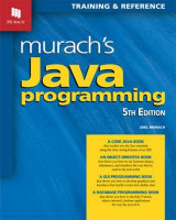 Omslag - Murach's Java Programming (5th Edition) 2017
