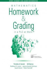 Omslag - Mathematics Homework and Grading in a PLC at Work (TM)