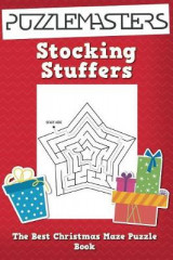 Omslag - Stocking Stuffers the Best Christmas Maze Puzzle Book