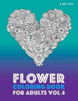 Omslag - Flower Coloring Book for Adults Vol 4