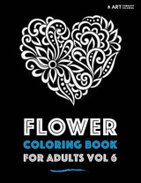 Omslag - Flower Coloring Book for Adults Vol 6