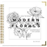 Omslag - How to Draw Modern Florals