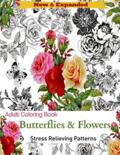 Adult Coloring Book av Adult Coloring Books og Butterflies and Flowers (Heftet)