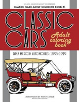 Omslag - Classic Cars Adult Coloring Book #1