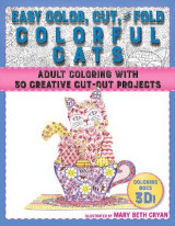 Omslag - Easy Color, Cut, and Fold Colorful Cats