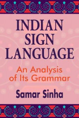 Omslag - Indian Sign Language - An Analysis of Its Grammar