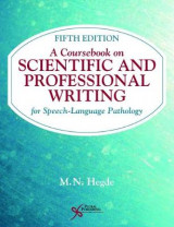 Omslag - A Coursebook on Scientific and Professional Writing for Speech-Language Pathology
