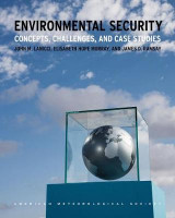 Omslag - Environmental Security - Concepts, Challenges, and Case Studies