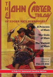 The John Carter Trilogy of Edgar Rice Burroughs av Edgar Rice Burroughs og Finn J D John (Innbundet)