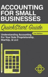 Omslag - Accounting for Small Businesses QuickStart Guide